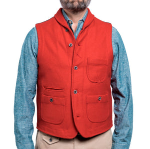 Captain Santors Vest 7701 (Red/Navy)