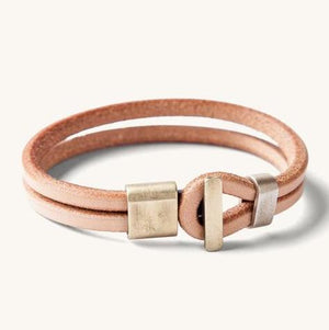 Tanner Goods Wristband (Natural / Brass)