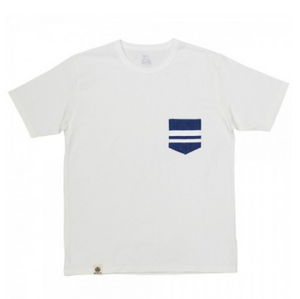 Momotaro GTB Denim Pocket Tee (White)