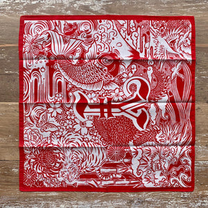 Momotaro Original Bandana (Red)