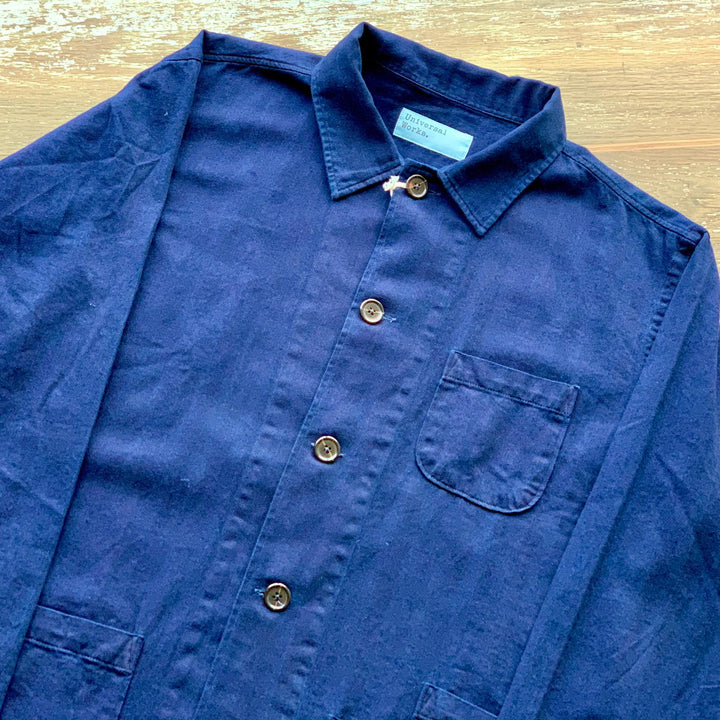 Universal Works Bakers Overshirt (Indigo)