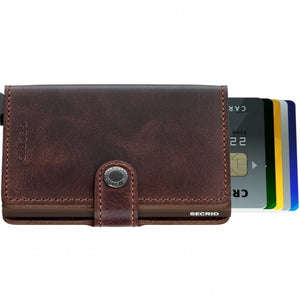 Secrid Miniwallet (Vintage Chocolate)