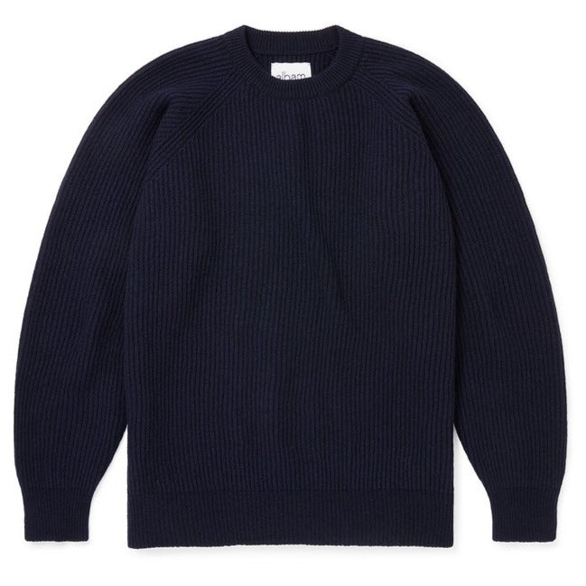 Albam Seamless Ribbed Crew (Navy)