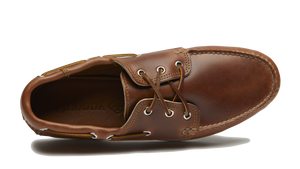 Quoddy Classic Boat Shoe (Cavalier Whiskey)