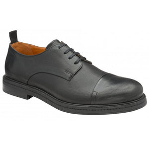 Frank Wright 'Riley' Derby Shoe (Black)
