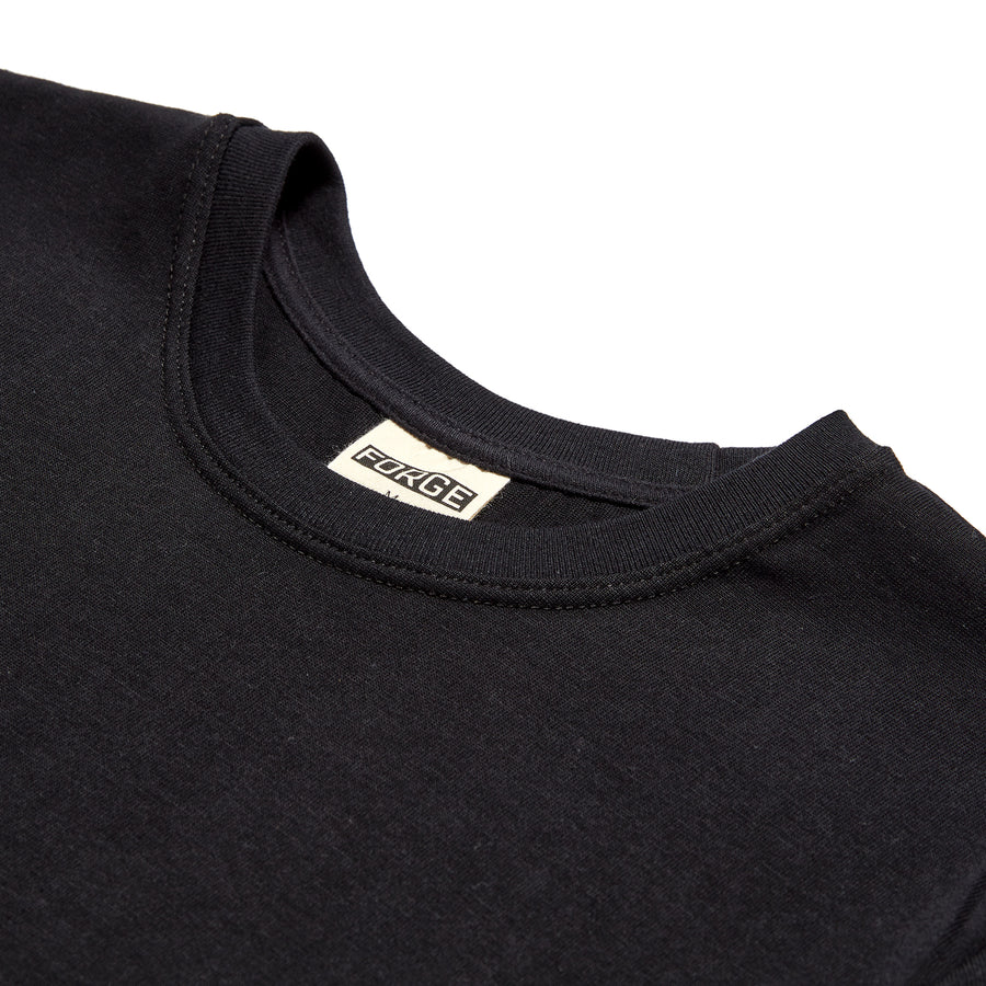 Forge Denim Supima Tee (Black)