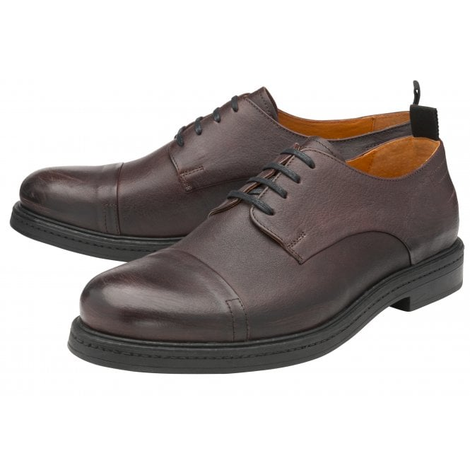 Frank Wright 'Riley' Derby Shoe (Burgundy)