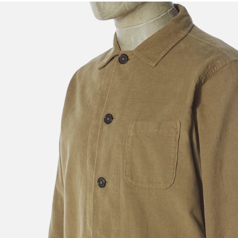 Universal Works Bakers Overshirt (Taupe)