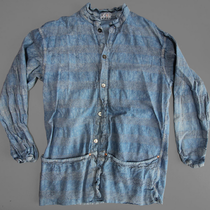 Tender Folded Pocket Shirt (Prussian Blue)