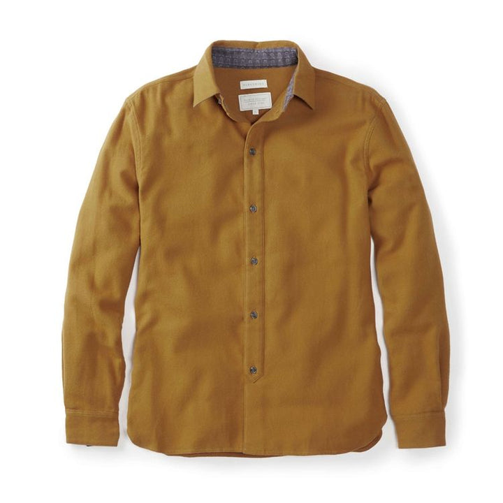 Peregrine Club Shirt (Ochre)