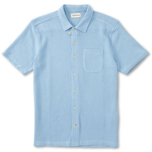 Oliver Spencer Hawaiian SS Shirt (Pale Blue)