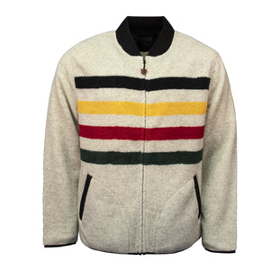 Pendleton Glacier Stripe Fleece Jacket