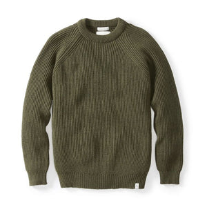 Peregrine Ford Crew Sweater (Olive)