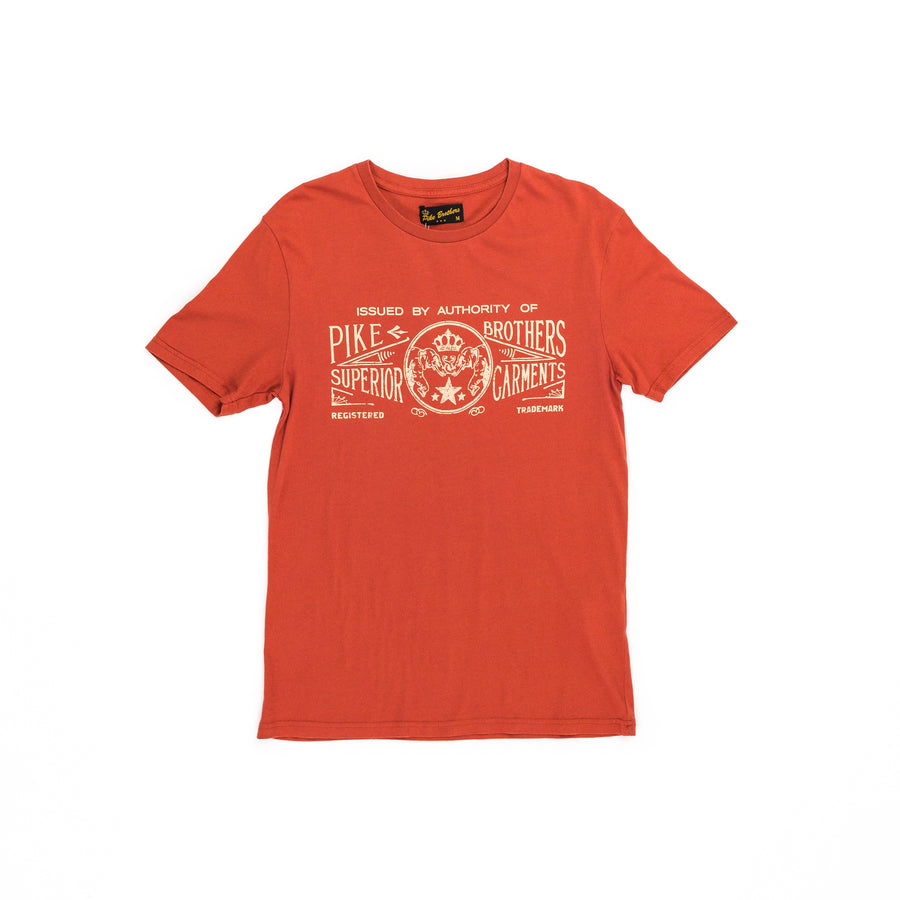 Pike Brothers 1964 Sports Tee (Red)