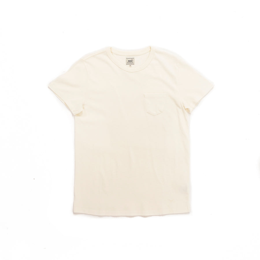 Benzak BT-01 Pocket Tee (Off White)