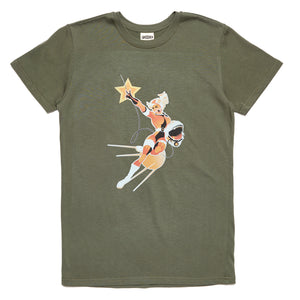 Forge Denim 'Betty' Tee (Khaki)
