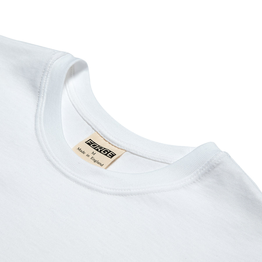 Forge Denim Heavy Tee (White LS)