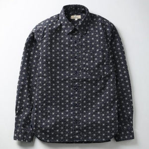 Japan Blue Sashiko Shirt (Navy)