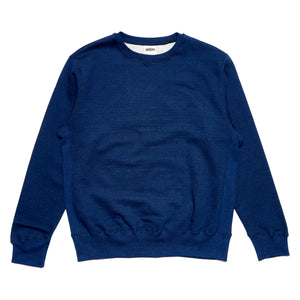 Forge Denim Ribbed Sweatshirt (Indigo)