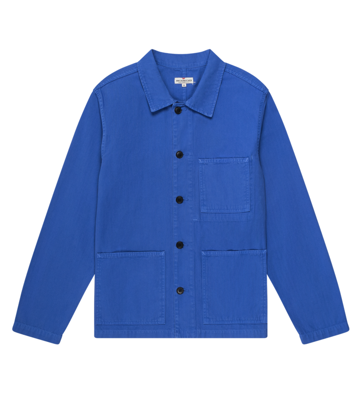 Knickerbocker Worker Coat (French Blue)