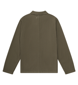 Knickerbocker Worker Coat (Olive)