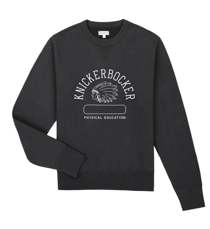 Knickerbocker Phys. Ed. Crew Neck Sweatshirt (Coal)
