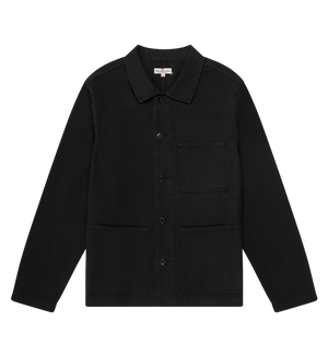 Knickerbocker Worker Coat (Black)