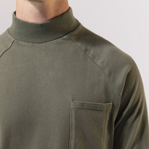 Unfeigned Long Sleeve Tee (Dusty Olive)