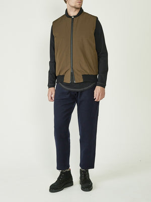 Oliver Spencer Moorland Gilet (Green)