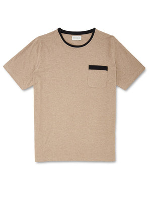 Oliver Spencer Envelope Tee (Beige)