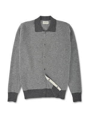 Oliver Spencer Roxwell Knitted Jacket (Grey)