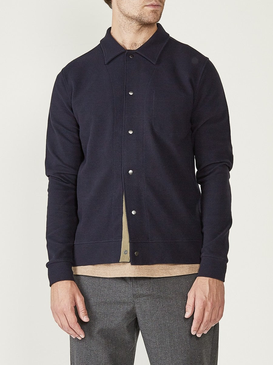 Oliver Spencer Rundell Jersey Jacket (Navy)