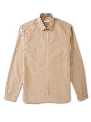 Oliver Spencer Clerkenwell Shirt (Sand)
