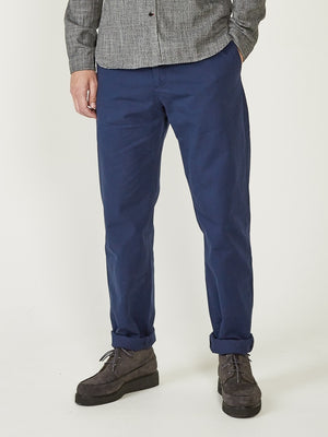 Oliver Spencer Fishtail Trousers (Blue)