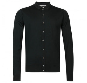 John Smedley Parwish Shirt (Racing Green)
