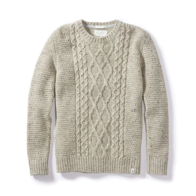 Peregrine Picton Crew Sweater (Oatmeal)