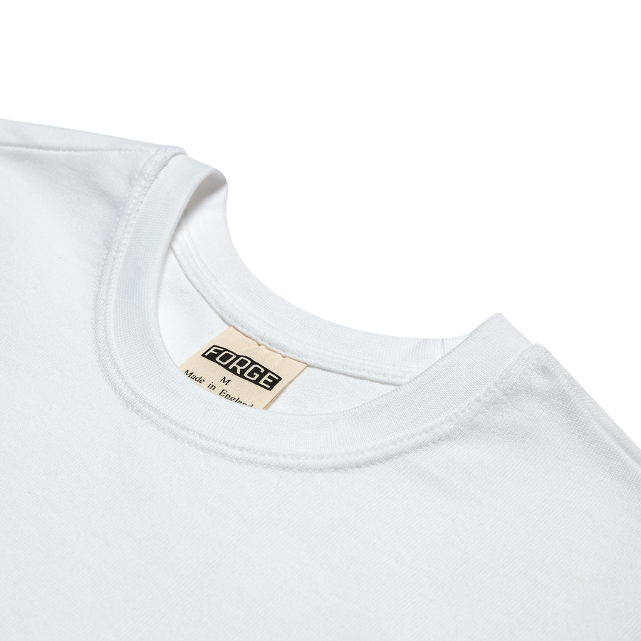 Forge Denim Supima Tee (White)