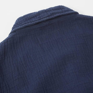 Universal Works Prairie Jacket In Dual Lincot (Navy)