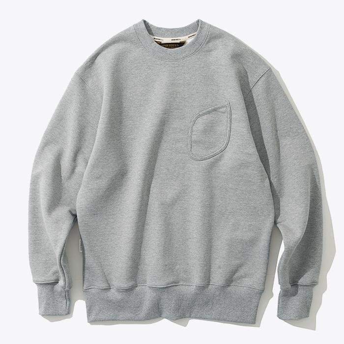 Uniform Bridge Watch Pocket Sweatshirt (Grey)