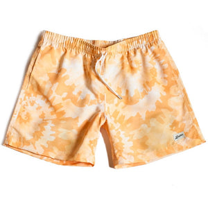 Bather Tie Dye Swim Trunks (Yellow)