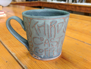 Teal Third Coast Coffee Mug