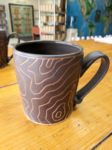 Topographic Third Coast Coffee Mug
