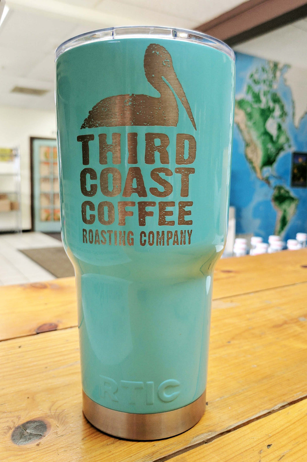 Third Coast Coffee Etched Tumbler