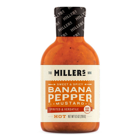 Banana Pepper Mustard - Hot