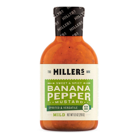 Banana Pepper Mustard - Mild