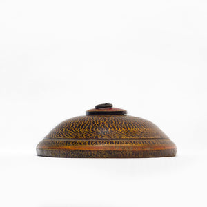 TEXTURED WOODEN OPIUM BOX