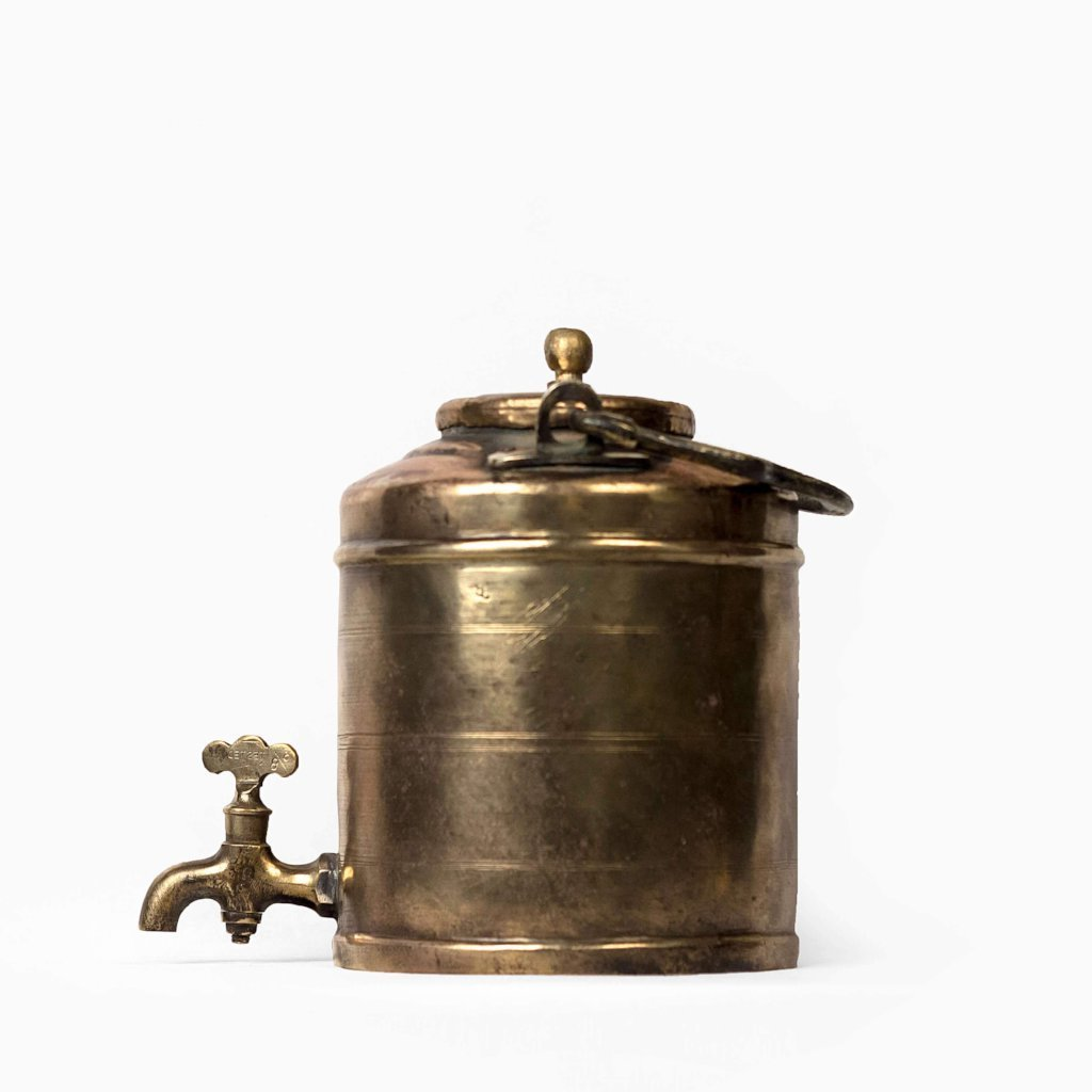 METAL TEA DISPENSER