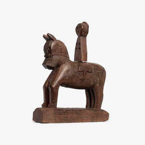 Antique Tribal Wooden Horse