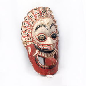 WOODEN TRIBAL MASK