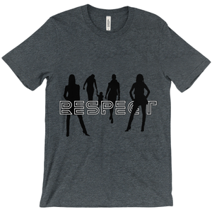 Respect Women - Bella+Canvas 3001 Unisex Jersey Short Sleeve Tee
